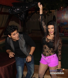 Rakhi Sawant performed at What The Fish film party
