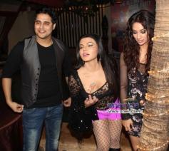 Rakhi Sawant at What The Fish film party