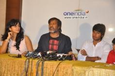 Rakul Preet Singh, Chota K. Naidu, Sundeep Kishan at Venkatadri Express Success Meet