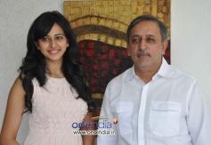 Rakul Preet Singh and Gemini Kiran at Venkatadri Express Success Meet