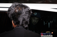 Ranbir Kapoor snapped out of Olive at late night