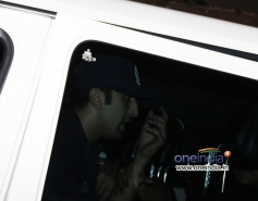 Ranbir Kapoor snapped outside at Olive