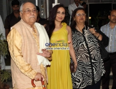 Rani Mukherjee at Dilip Kumar's birthday Party Celebration