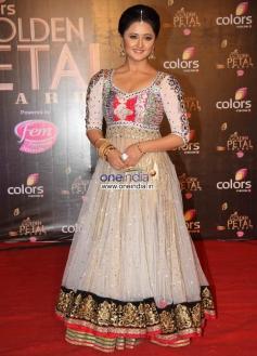 Rashami Desai at Colors Tv 3rd Golden Petal Awards 2013