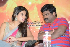 Shraddha Das and Chandrabose at Rey Teaser Launch