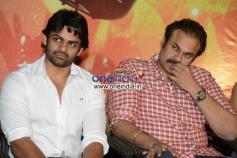 Sai Dharam Tej and Nagendra Babu at Rey Teaser Launch