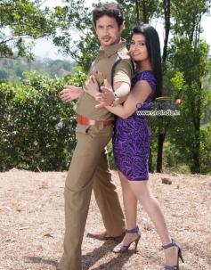 Roopa Shree and Nagkiran in Kannada Movie Janma Nakshatra