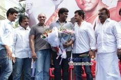 Sagaaptham Movie Launch Stills