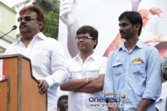 Vijayakanth at Sagaaptham Movie Launch