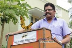 KS Ravikumar at Sagaaptham Movie Launch
