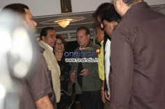 Salim Khan at Dilip Kumar's birthday Party Celebration