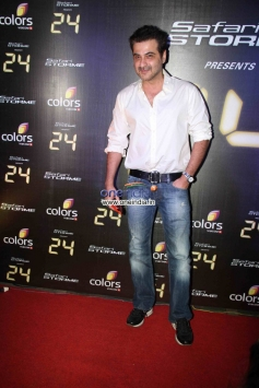 Sanjay Kapoor at Success party of Colors TV show 24