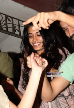 Sarah Jane Dias at the special screening of film The Wolf of Wall Street