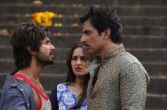 Shahid Kapoor, Sonakshi Sinha and Sonu Sood still from film R... Rajkumar