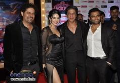 Shahrukh Khan along with film Jackpot starcast at PVR cinemas