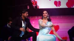 Shahrukh Khan and Deepika Padukone performed at Access All Areas concert
