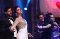 Shahrukh Khan and Deepika Padukone snapped at Access All Areas concert