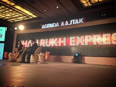 Shahrukh Khan interview at the Agenda Aaj Tak program