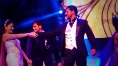 Shahrukh Khan and Madhuri Dixit dance performance at Access All Areas concert