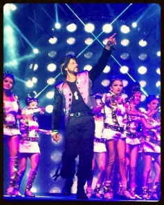 Shahrukh Khan performed at Access All Areas concert