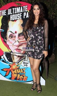 Sheeba Shabnam at What The Fish film party