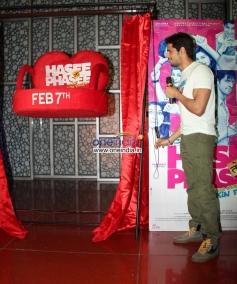 Sidharth Malhotra at media interaction of Hasee Toh Phasee