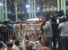 Srikantadatta Narasimharaja Wadiyar Body Kept at Mysore Palace