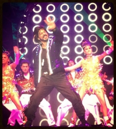 SRK performance during the Access All Areas concert