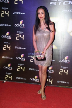 Suchitra Pillai at Success party of Colors TV show 24