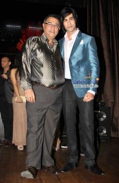 Suneel Darshan and Shiv Darshan during the music launch of film Karle Pyaar Karle