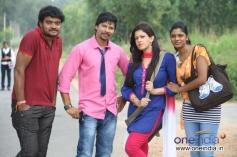 Sunil Raj, Ahana in Kannada Movie Jaggi