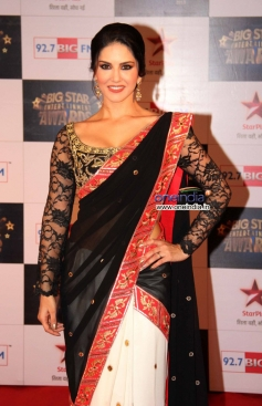 Sunny Leone at the Big Star Entertainment Awards 2013