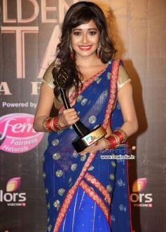 Tina Dutta at Colors Tv 3rd Golden Petal Awards 2013