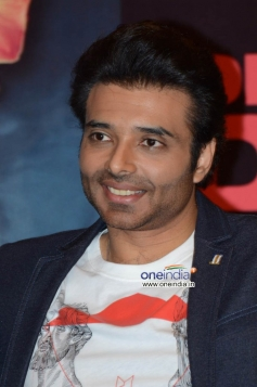 Uday Chopra during the Dhoom 3 film promotion at Hyderabad