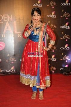Upasna Singh at Colors Tv 3rd Golden Petal Awards 2013