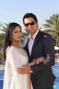 Veena Malik and Asad Bashir Khan wedding reception