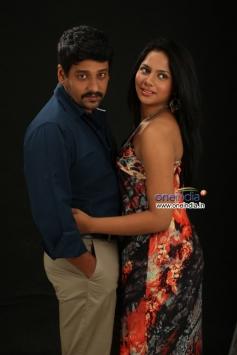 Vidharth and Aishwarya Dutta still from film Aruthapathi