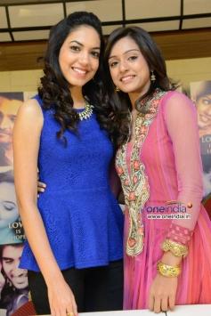 Vithika Sheru and Ritu Varma at Prema Ishq Kadhal Success Meet