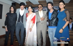 Yaariyan film promotion during the latest issue launch of The Rising Star Magazine