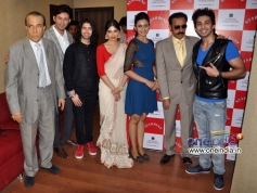 Yaariyan film stars arrives at the unveiling of The Rising Star Magazine latest issue