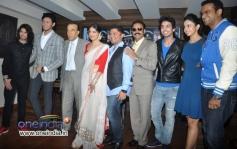Yaariyan film stars at the launch of The Rising Star Magazine latest issue