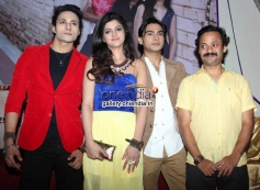 Zubair Khan, Anjali Arora, filmmaker Muazzam Bag and actor Shresth Kumar