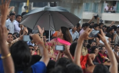 Aarti Chhabria at Republic Day Parade