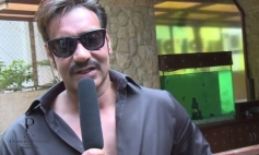 Ajay Devgan still from Dabboo Ratnani 2014 Calendar photoshoot behind the scenes