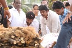 Akkineni Nageswara Rao's Cremation