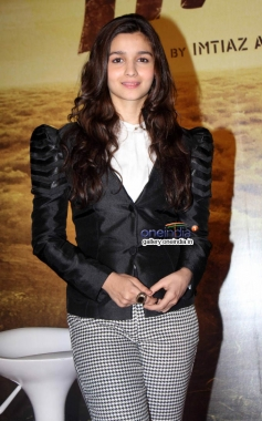 Alia Bhatt during the announcement of film Highway