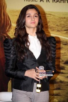 Alia Bhatt during the Highway film media interaction
