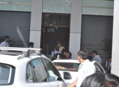 Alia Bhatt and Karan Johar snapped at the Mumbai Airport