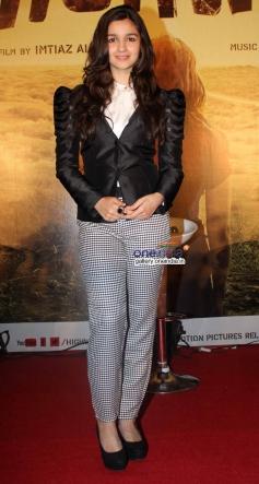Alia Bhatt snapped at the Highway film media interaction