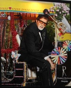 Amitabh Bachchan on Dabboo Ratnani's 2014 Calendar
